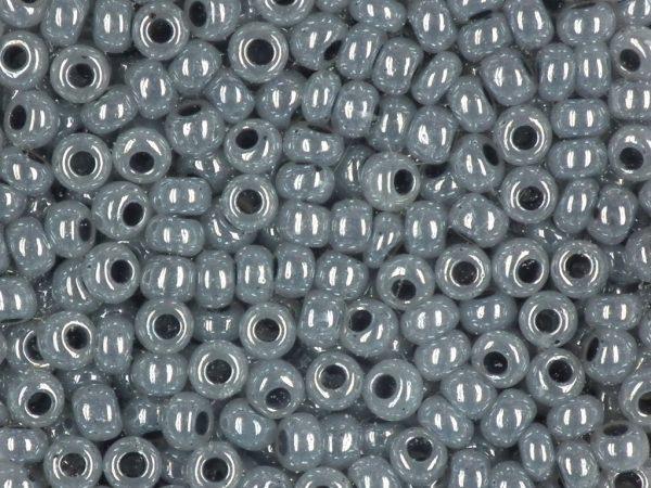Rocailles 2,6mm wachs grau in 17g