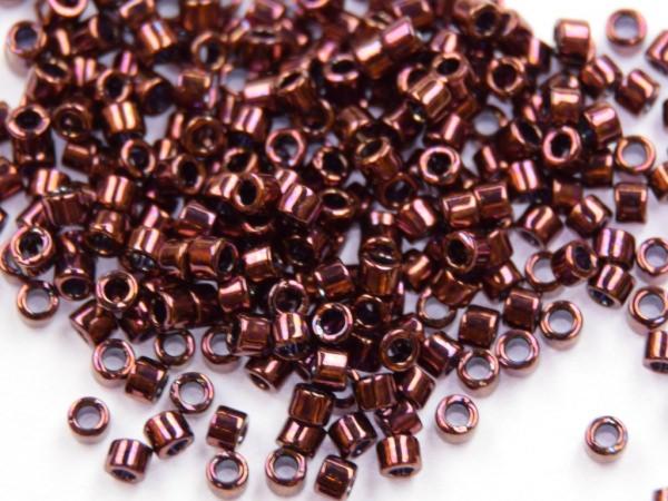 Miyuki Delica 11/0 1,6mm Metallic Raspberry 100g