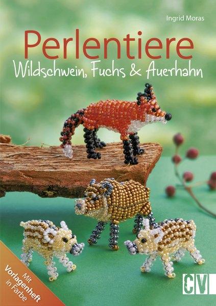 Perlentiere Wildschwein Fuchs & Auerhahn von Ingrid Moras