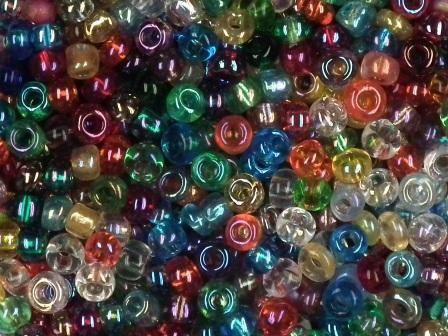 Rocailles 2,6mm rainbow mix 17g