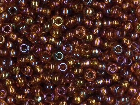 Rocailles 2,6mm rainbow topas 17g