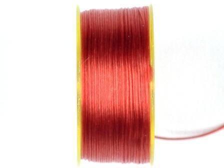 Nymogarn 0,15mm rot 44,5m auf Spule