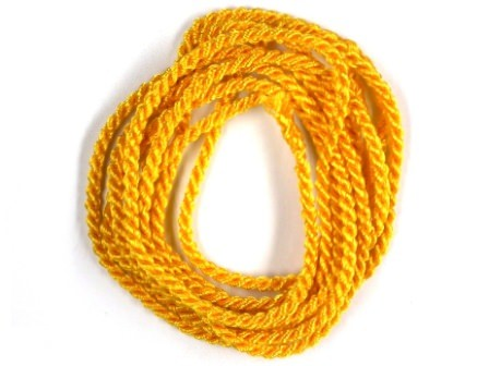 Viskosekordel-2mm-gelb
