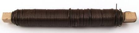 Wickeldraht braun 0,65 mm von Pracht