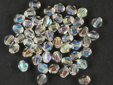 Bicone 5mm Kristall-AB