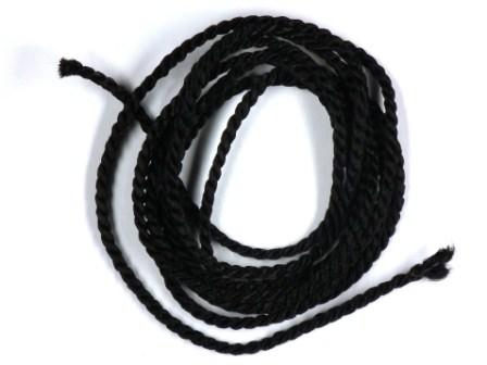 Viskosekordel-2mm-schwarz