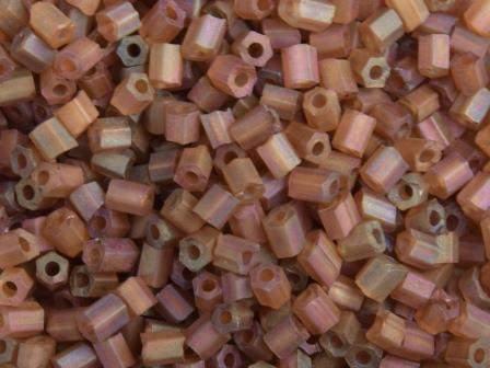 2-Cut 11/0 2mm Gefrostet Braun