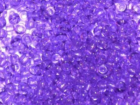 Rocailles 2,6mm 9/0 transparent Violett