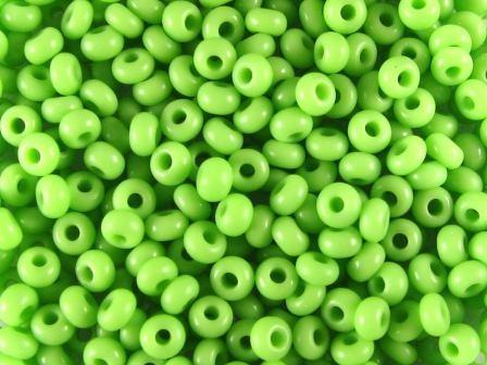 Rocailles 2,6mm 9/0 satt hell grün