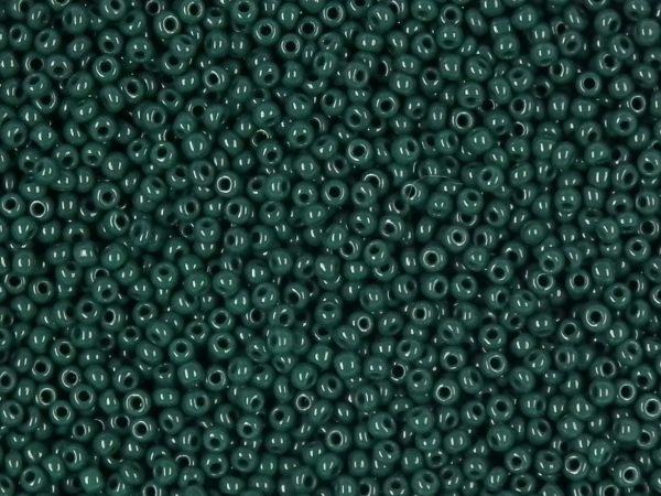 mini Rocailles 15/0 in tannengrün