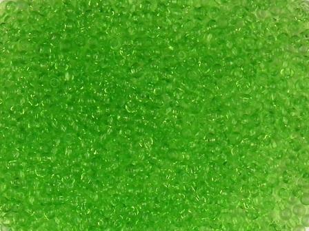 Rocailles 1mm transparent hellgrün