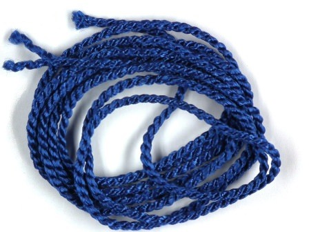 Viskosekordel-2mm-blau