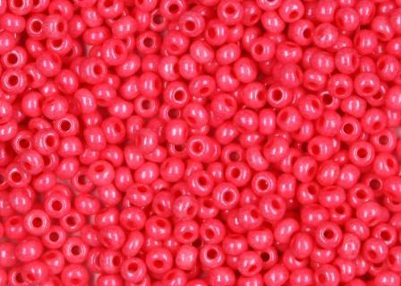 Rocailles 2,6mm 9/0 satt pink