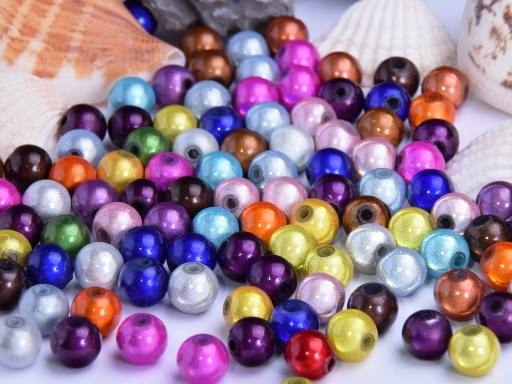 Miracle Beads 6mm bunt 60 Stück
