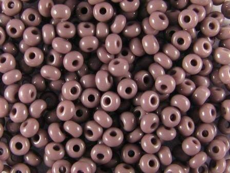 Rocailles 2,6mm 9/0 satt lila