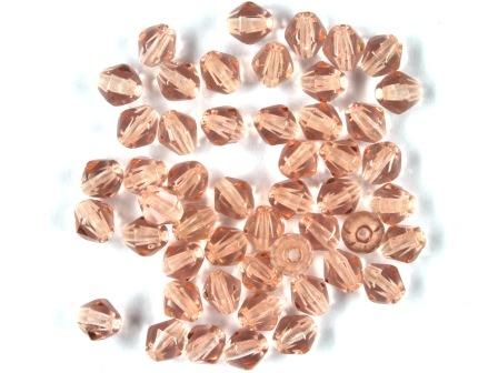 Bicone 5mm Kristall-altrosa