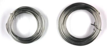 Aludrahtring 1,5mm 5m Rolle