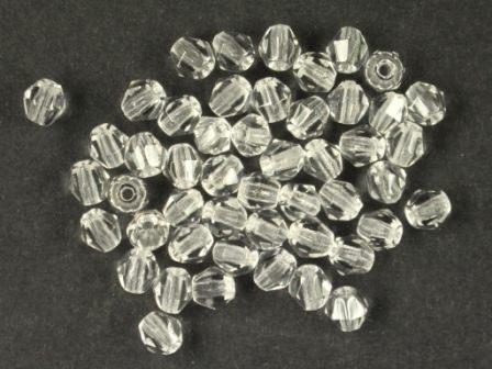Bicone 4mm Kristall-klar