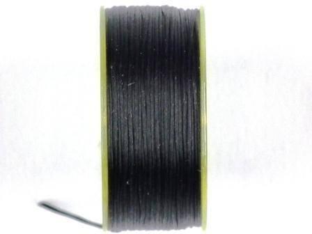 Nymogarn 0,15mm schwarz 44,5m auf Spule
