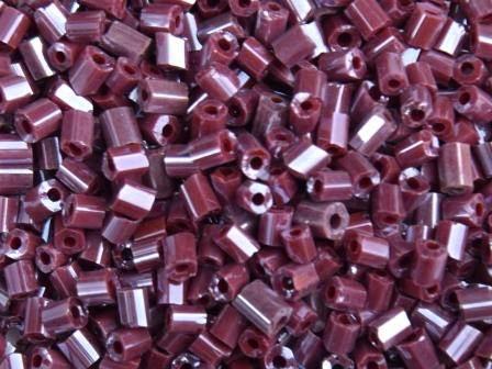 2-Cut 11/0 2,m Gelüster Rotbraun