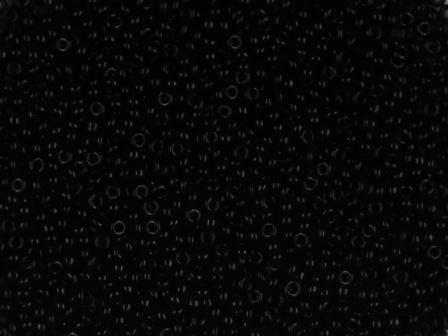 Rocailles 24/0 0,9mm satt schwarz