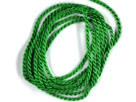 Viskosekordel-2mm-grün