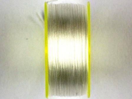 Nymogarn 0,15mm weiß 44,5m auf Spule